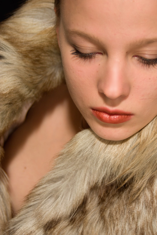 Sedcard Fotomodell Sabrina